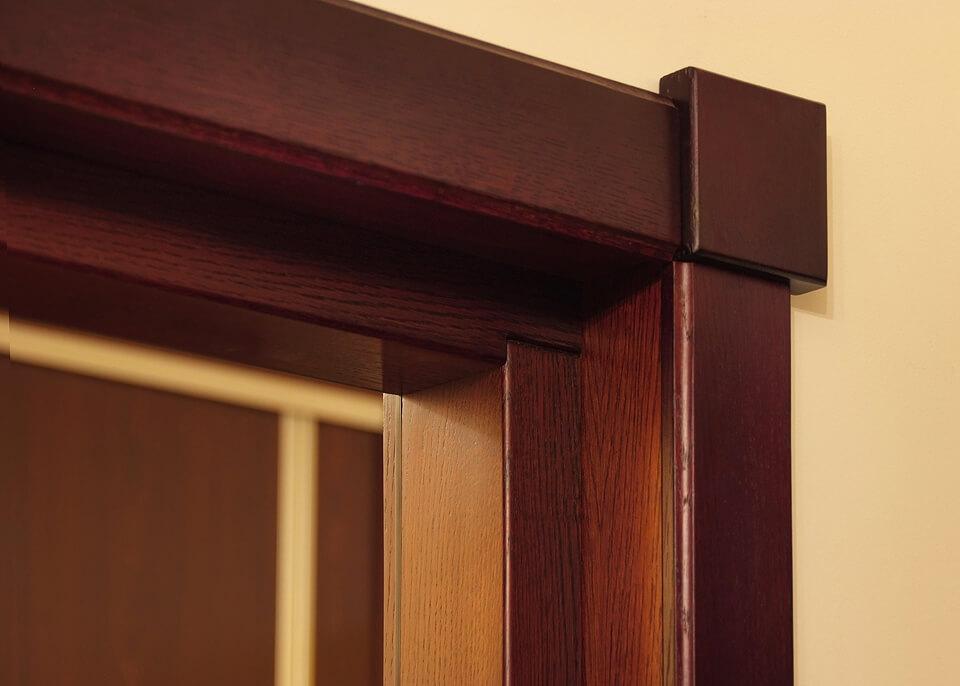Drzwi z drewna wewnętrzne