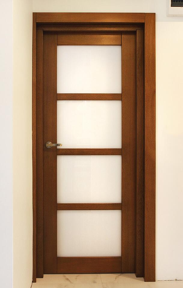 Drzwi z drewna dębowe.